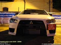 The First Evo X in Sri Lanka !!!