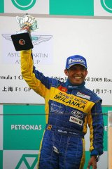 DILANTHA Takes OpeningWin @ 2009 Aston Martin AsiaCup in Shanghai