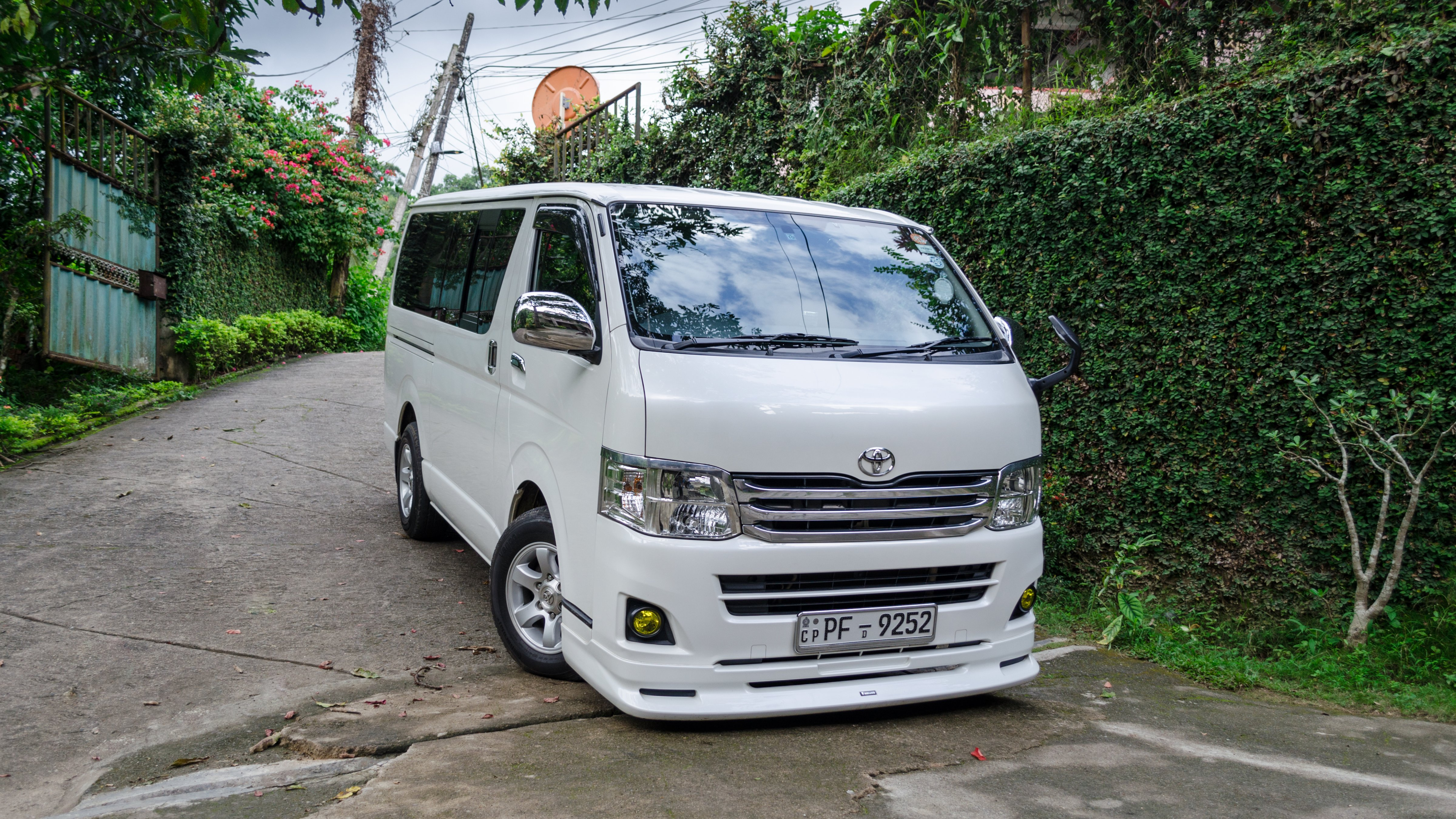 Journey With The Hiace